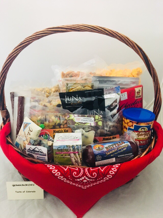 Taste of Colorado Gift Basket