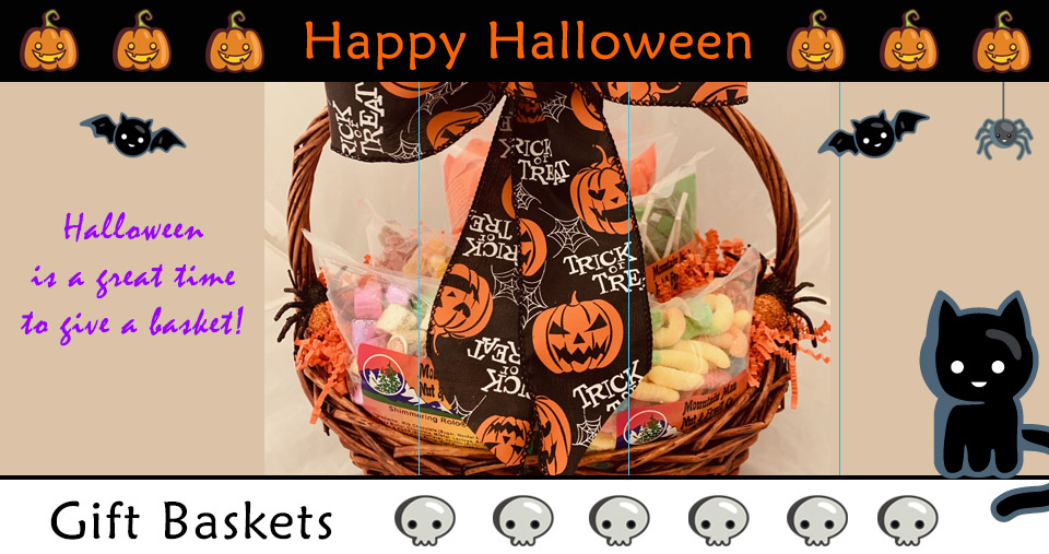 Give a Halloween Gift Basket