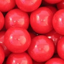 Cherry Candy Coated Gumballs - 07385