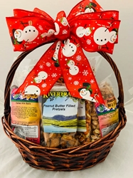 Holiday Treasure Chest Gift Basket