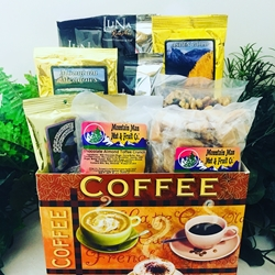 Gourmet Coffee Break Gift Basket
